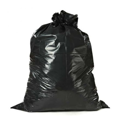 Plasticplace 42 Gallon Contractor Trash Bags - Black, case of 25 (42 Gallon Contractor Bags)
