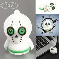 USB 2.0 4GB Memory Storage Pen fashion Disk Digital Halloween Cartoon U Disk