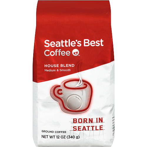 Seattle's Best Coffee House Blend Ground Coffee, 12 oz