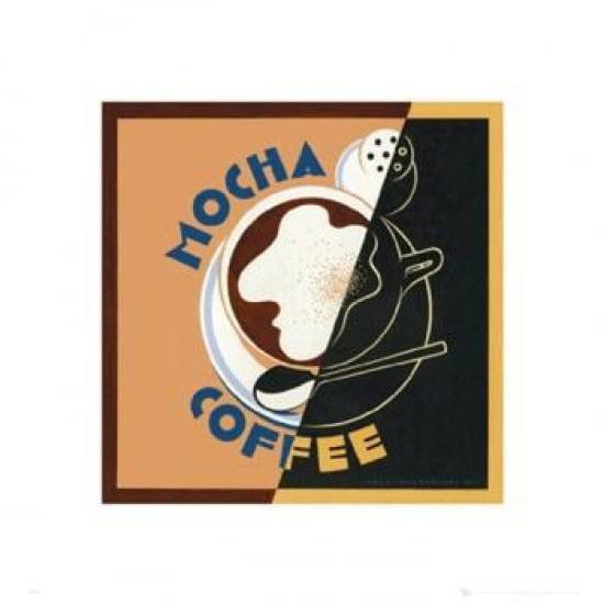 Mocha - Coffee Poster Print (16 x 16)
