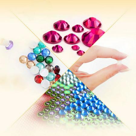 DIY 5D Diamond Painting Kits DIY Drill Diamond Painting Needlework Crystal Painting Rhinestone Cross Stitch Mosaic Paintings Arts Craft for Home Wall Decor Gift 25*25cm - image 3 of 7