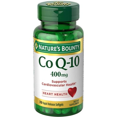 Natures Bounty Maximum Strength Cardio Q 10 Co Q 10 Dietary Supplement Softgels  400Mg  30 Count