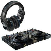Hercules 4-mx Dj Console, Pro Dj Headpho