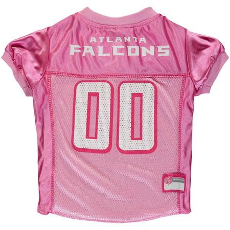 quality design bc14b 8f17d Atlanta Falcons Mesh Dog Jersey - Pink