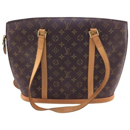 767feda7e5 Louis Vuitton - Babylone Zip Tote 865908 Brown Monogram Canvas ...
