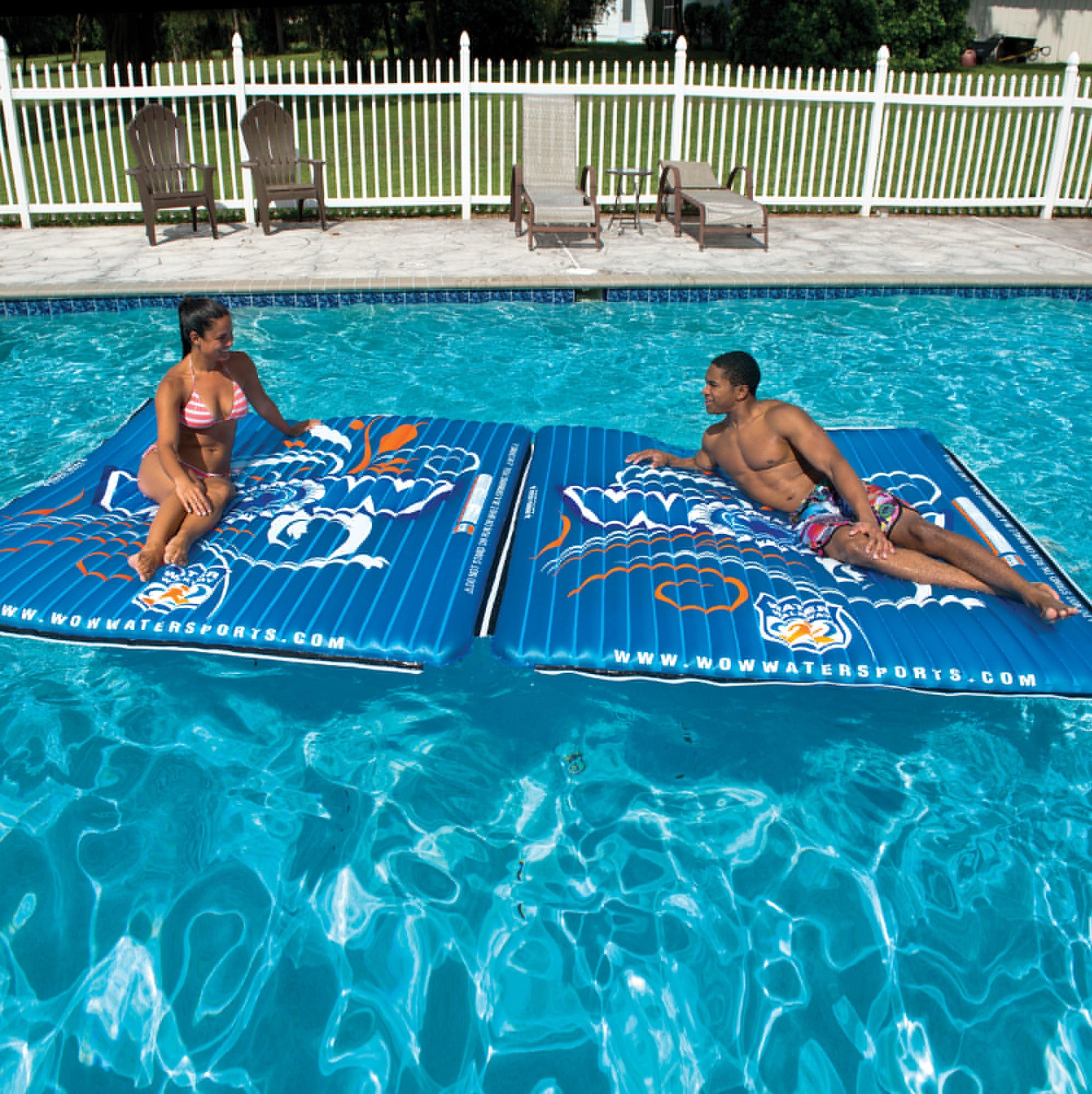 WOW World Of Watersports Vinyl Water Mat Pool Float - Walmart Com