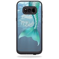 Skin For LifeProof Samsung Galaxy S8+ Plus fre Case - im really a mermaid | Protective, Durable, and Unique Vinyl cover | Easy To Apply, Remove, and Change Styles
