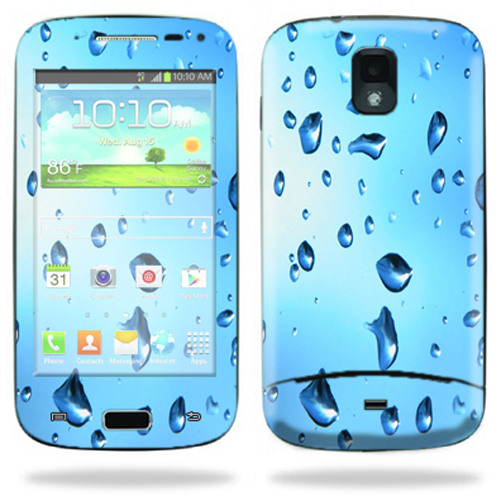 Mightyskins Protective Skin Decal Cover for Samsung Galaxy S Relay 4G T699 Cell Phone T-Mobile wrap sticker skins Water Droplets