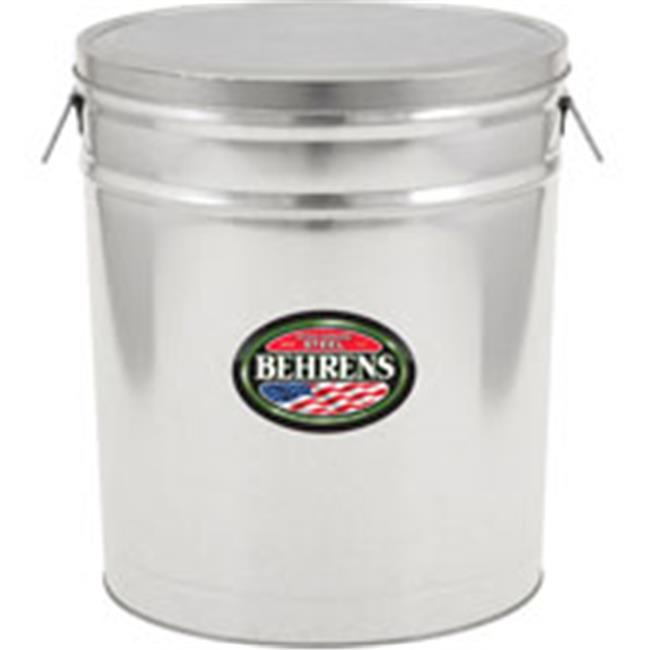 Behrens Manufacturing 6.5 Gal Lard Can BDP50 Pack Of 5