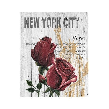 - New York Roses Print Wall Art By Alicia Soave