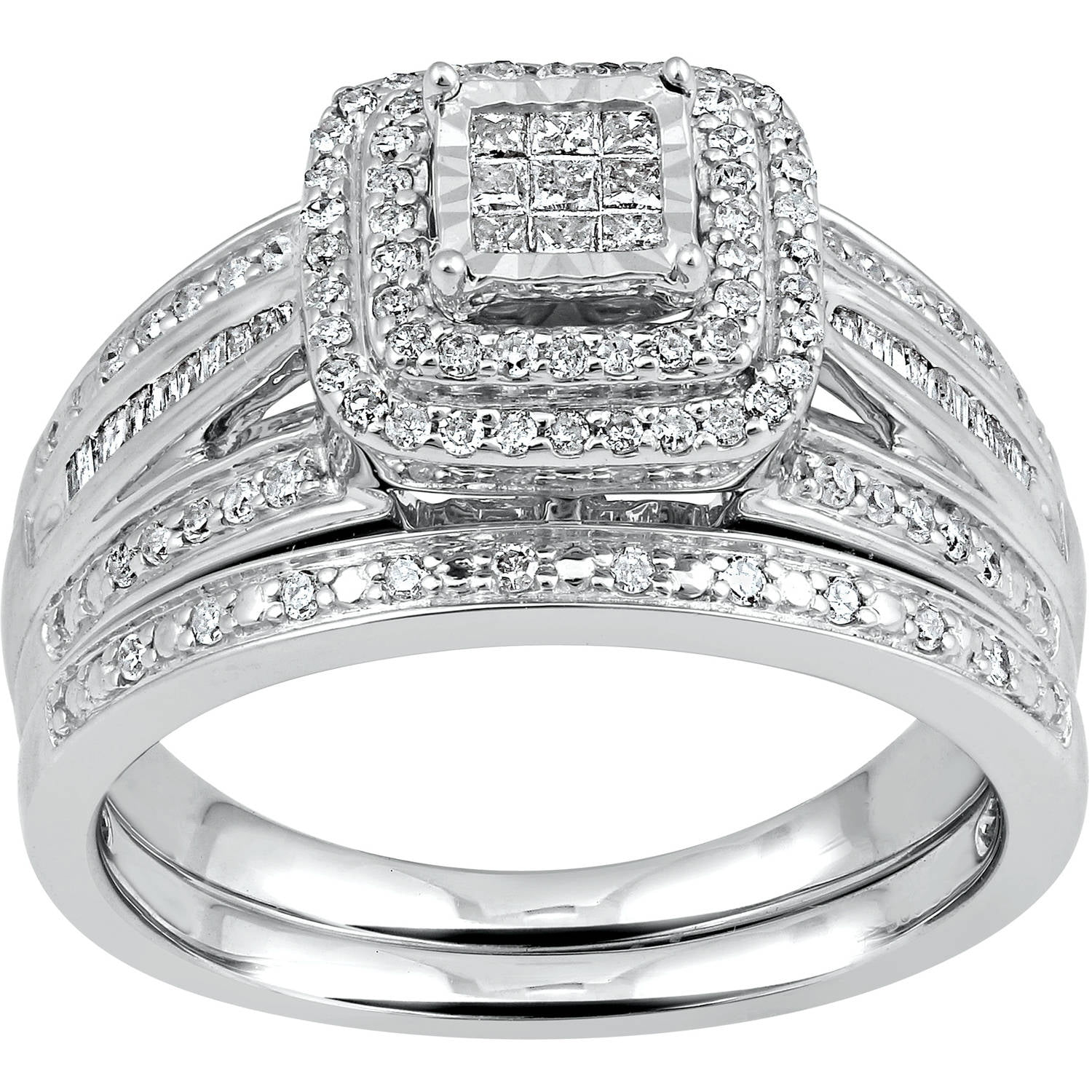 forever 1 2 carat t w sterling silver