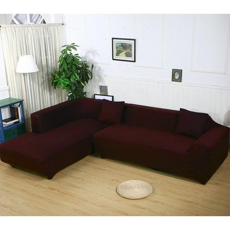 3 Seat 3 Seat L Shape Stretch Elastic Fabric Sofa Furniture