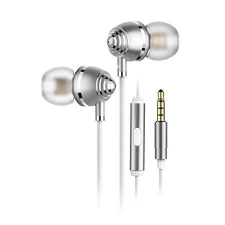 in Ear Headphones with Mic Hybrid Dual Driver Earbuds in Ear Monitor Headphones Banlance Armature with Dynamic in-Ear
