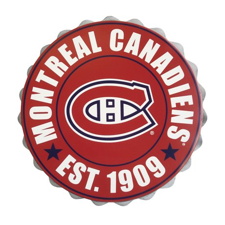 Forever collectibles montreal canadiens bottle cap wall logo - Logo des canadiens de montreal ...