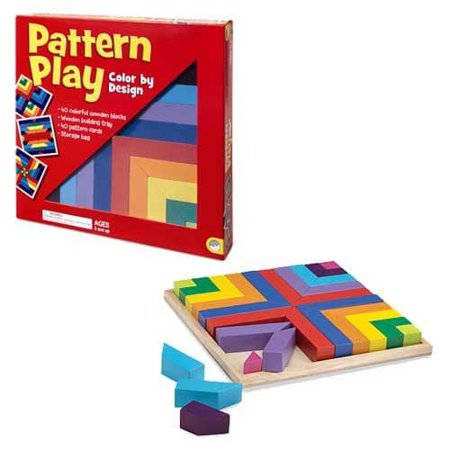 Mindware Pattern Play 40 Pc Block Set Walmartcom