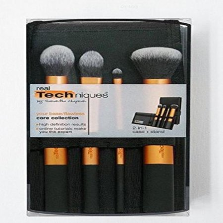 REAL TECHNIQUES Makeup Brush - Core Collection Brush on set Boxed - - Halloween Makeup Techniques