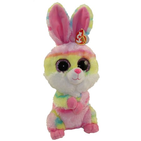 TY Beanie Boos - LOLLIPOP the Bunny (Glitter Eyes) (Medium Size - 9 inch)