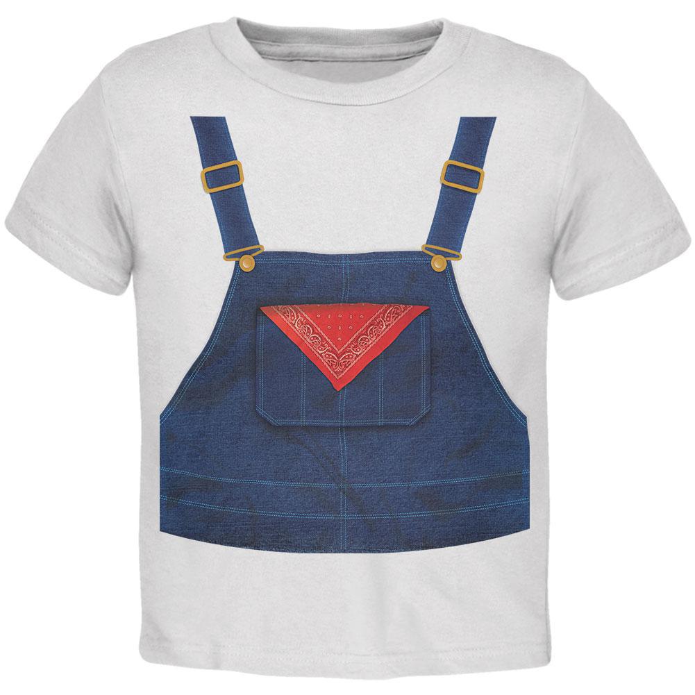 Farmer Overalls Costume Toddler T-Shirt