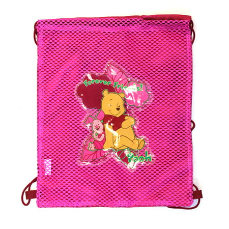 Winnie the Pooh Draw String Backpack Bag