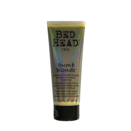 Tigi Bed Head Dumb Blonde Reconstructor Conditioner 6.76 Oz, For After Highlights Damage Or Chemically Treated