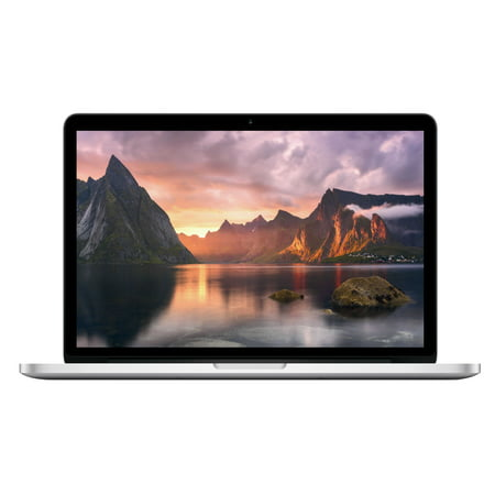 Refurbished Apple A Grade Macbook Pro 13.3-inch Laptop (Retina) 2.4Ghz Dual Core i5 ME865LL/A 256 GB SSD 8 GB Memory 2560x1600 Display macOS Sierra Power (Difference Between Macbook Pro With Retina Display)