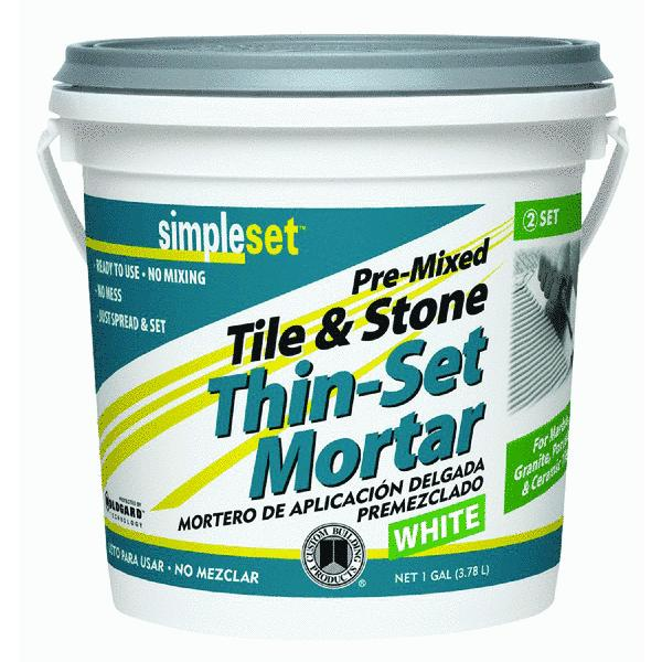 Custom Building Products Pre-Mixed Tile & Stone Thin-Set Mortar (Set of 2)