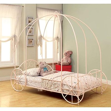 Coaster 400155T Home Furnishings Canopy Bed, Twin,