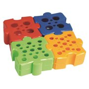 HEATHROW SCIENTIFIC HS29060A Puzzle Rack, Pk 4