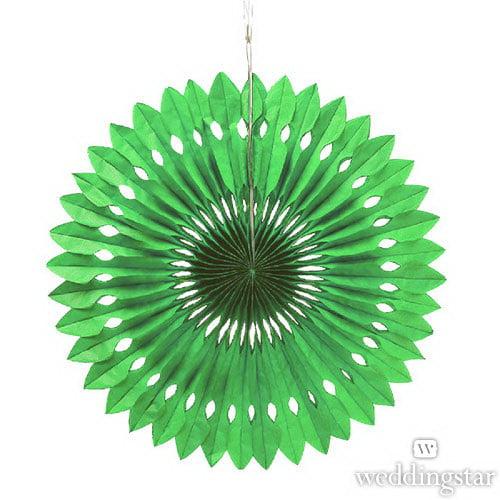 Weddingstar 43006-03 Paper Pinwheel Decor - Green