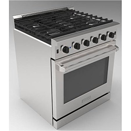 "Thor Kitchen 30"" Freestanding Gas Ranges with Oven, LRG3001U in Stainless Steel/Silver CSA certified Convection Oven"