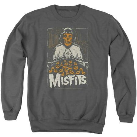 Misfits I Remember Halloween Officially Licensed Adult Crewneck Sweatshirt - Misfits Halloween Mp3