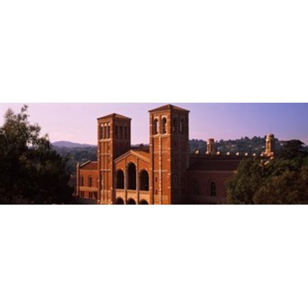 Image of Royce Hall at the campus of University of California Los Angeles California USA Canvas Art - Panoramic Images (18 x 6)