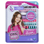 Cool Maker, KumiKreator Dream Fashion Pack Refill, Friendship Bracelet and Necklace Activity Kit