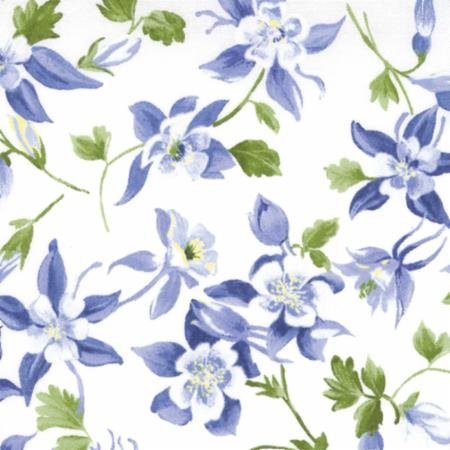 Clearance Sale~Wildflowers Favorites~Bluebells~Cotton Fabric by Moda