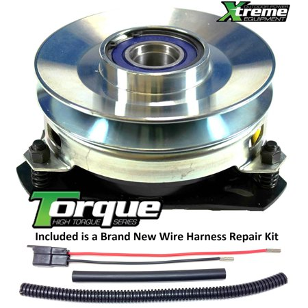 Bundle - 2 items: PTO Electric Blade Clutch, Wire Harness Repair Kit.  Replaces Warner 5210-35 Electric PTO Clutch - w/ Wire Harness Repair Kit!