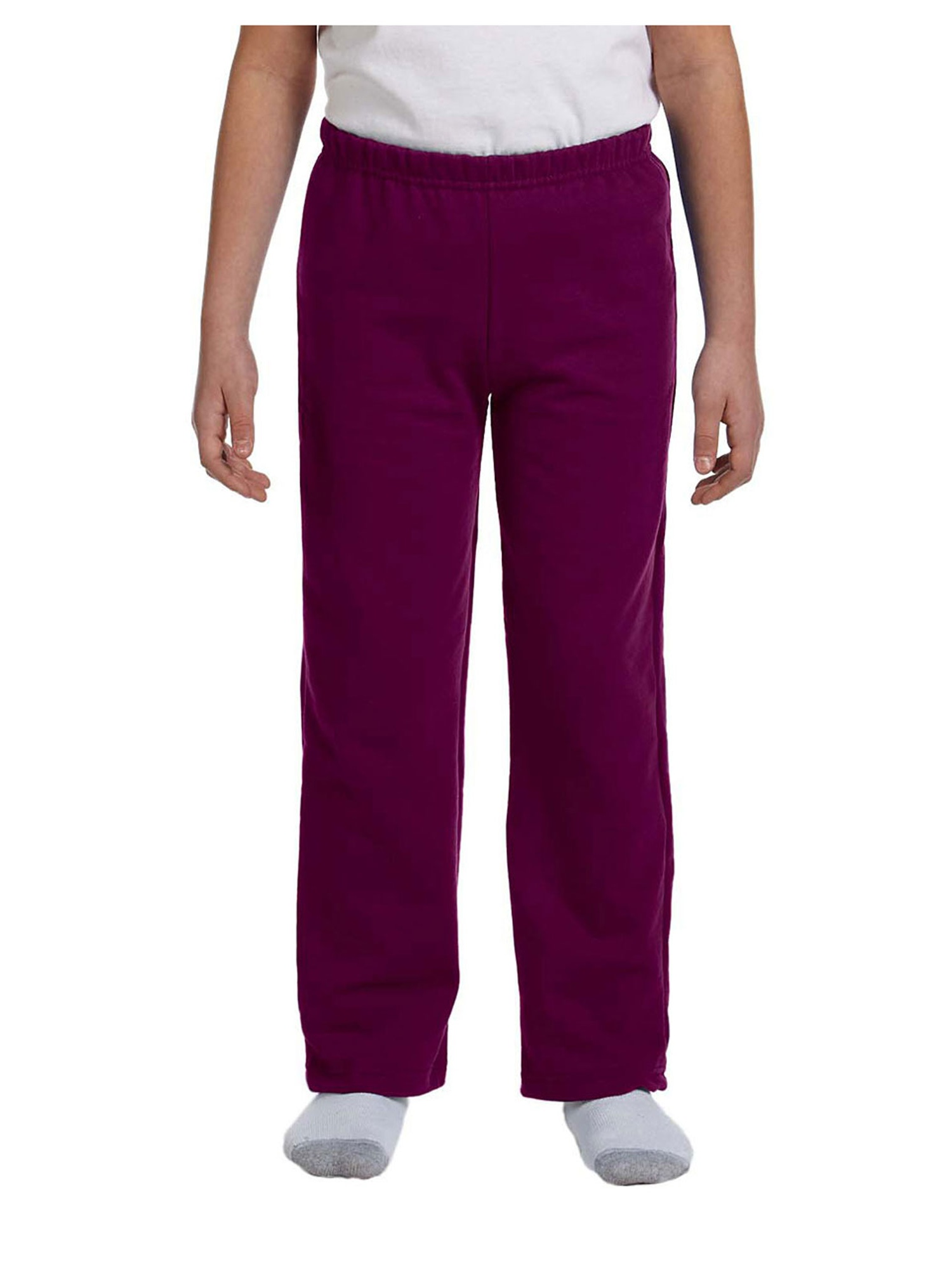 Gildan Big Boy's Missy Fit Air Jet Yarn Fleece Sweatpant, Style G18400B