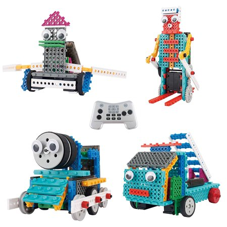 Build Your Own Remote Control Robot Toy (170pcs) -Robot Kit For Kids-Robot Kit for Kids - Ingenious Machines Build Your Own Remote Control Robot Toy -](Remote Control Robots For Kids)