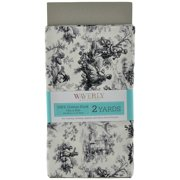 Waverly Inspirations Toile Grey Fabric, 2 Yd.