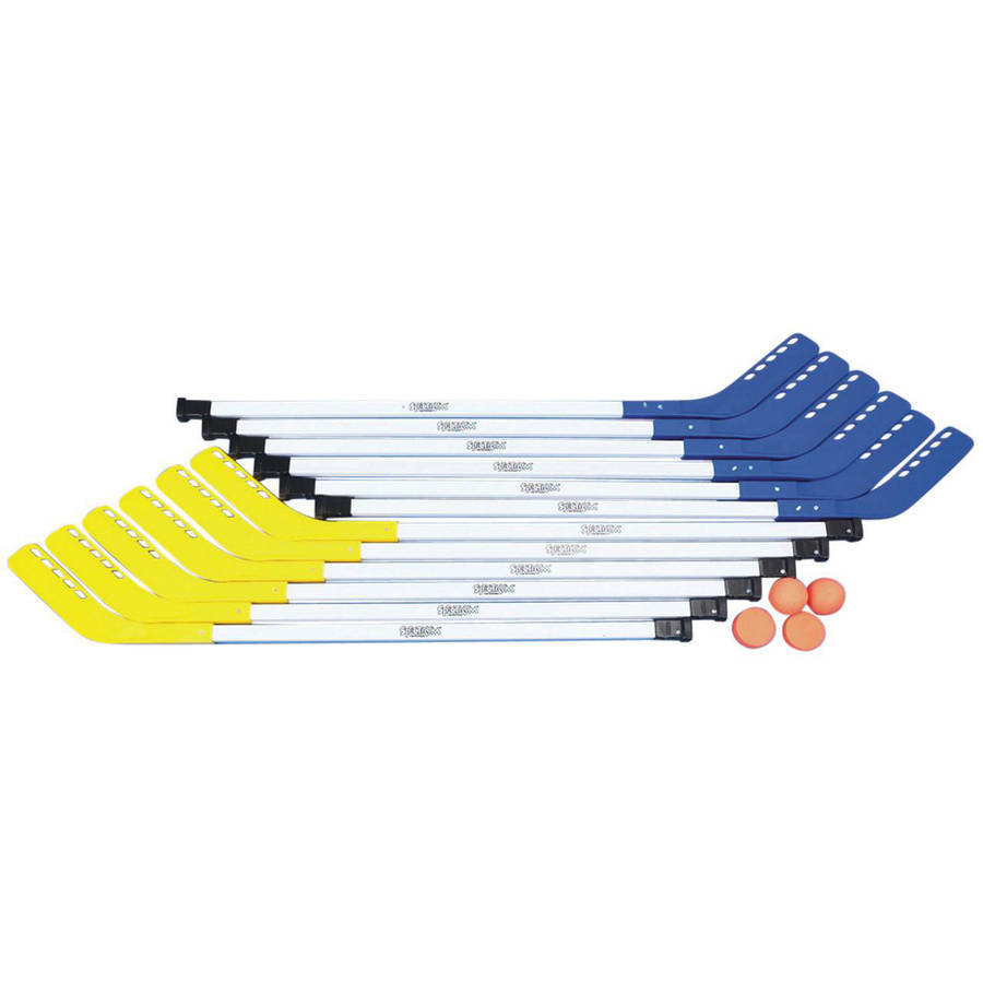 "S&S Worldwide Spectrum Middle School Tough Floor Hockey Set, 43"" by S&S Worldwide"