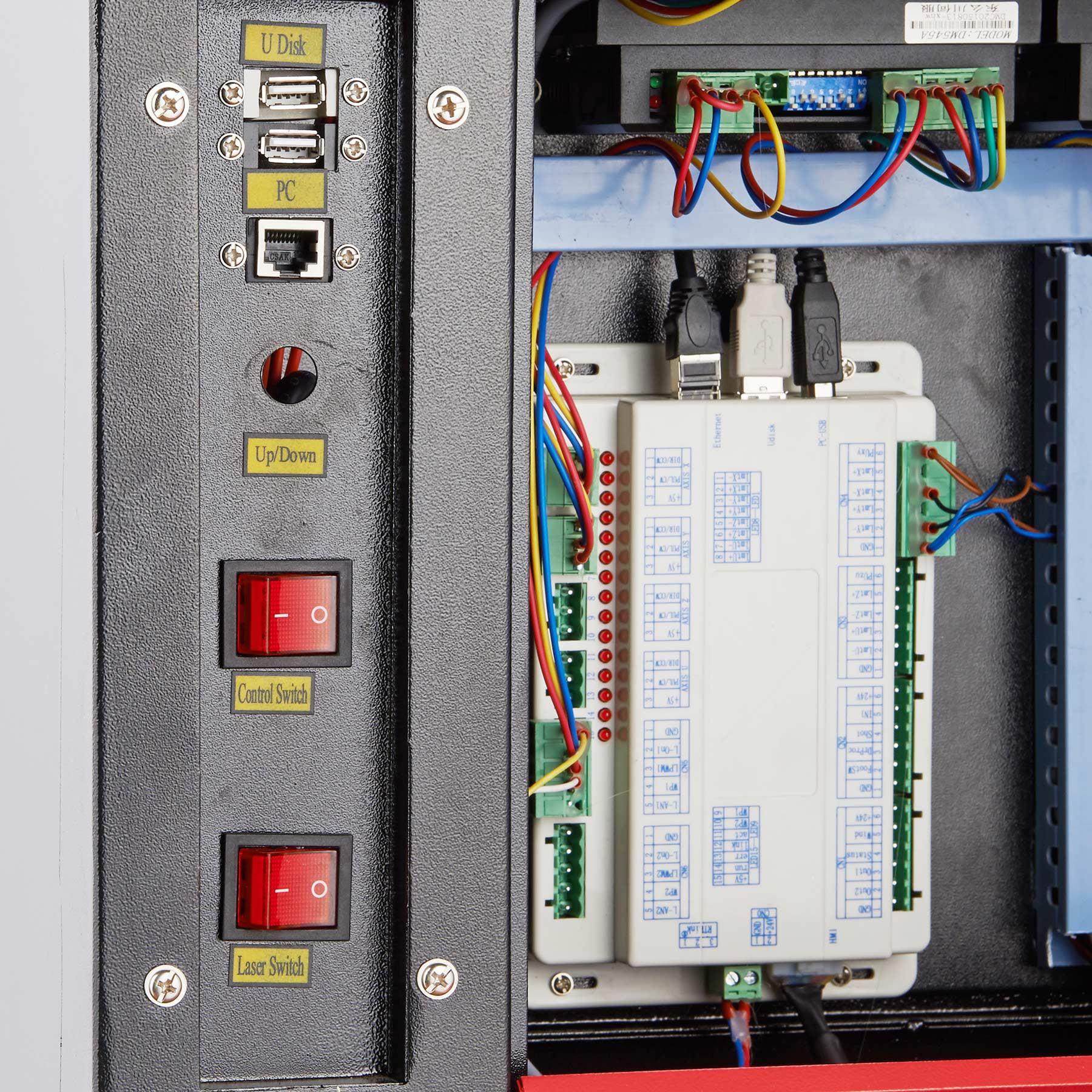 60w CO2 Laser Engraving & Cutting Professional Engraver Machine