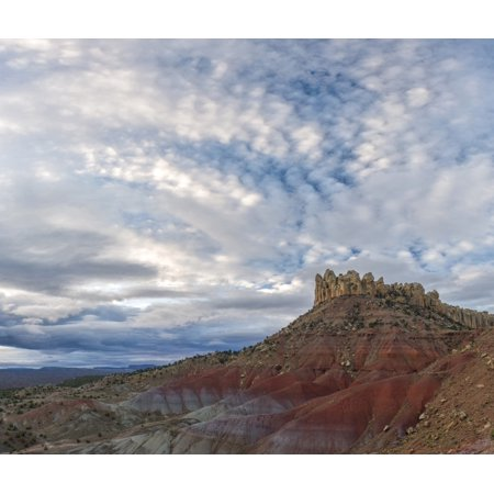 Clouds Over The Circle Cliffs Near Long Canyon Grand Staircase Escalante National Monument Utah Usa Canvas Art   Panoramic Images  20 X 18