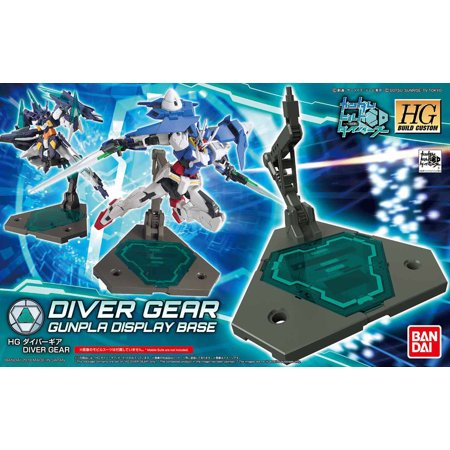Bandai Hobby Gundam Action Base 2 Diver Gear for HG 1/144 Display