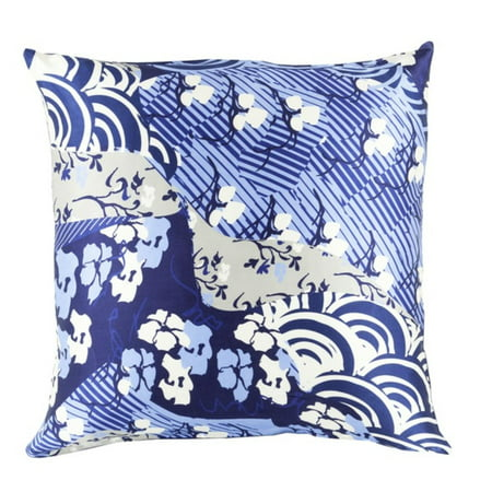 20 Dream Nursery Blueberry Blue And Cornflower Decorative Square Throw Pillow