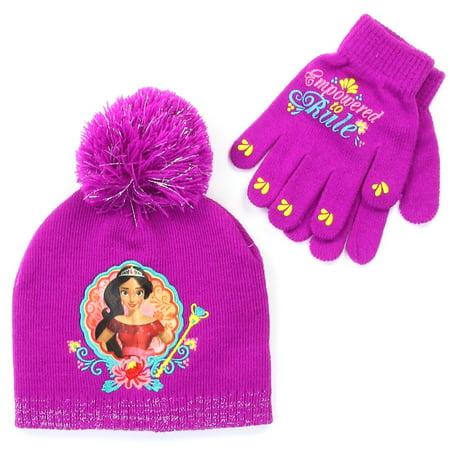 cheap for discount 1dc32 c5ba3 Disney - Elena Winter Hat   Gloves Set, Girls - Walmart.com