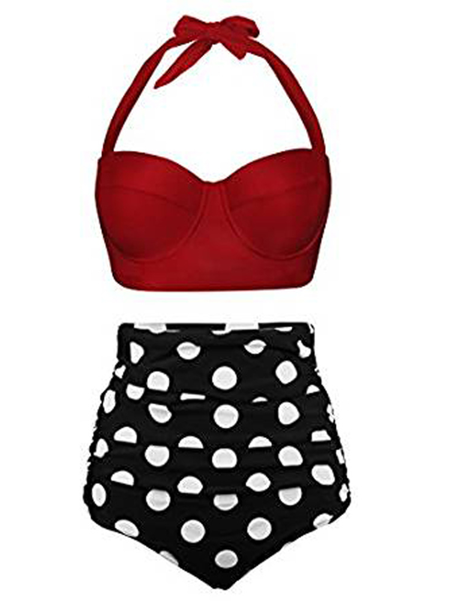 1755ac48944 Sexy Dance - Women Sexy Two Piece Push Up Padded Swimsuit High Waist Bikini  Set Swimwear Bathing Suit Swimsuit - Walmart.com