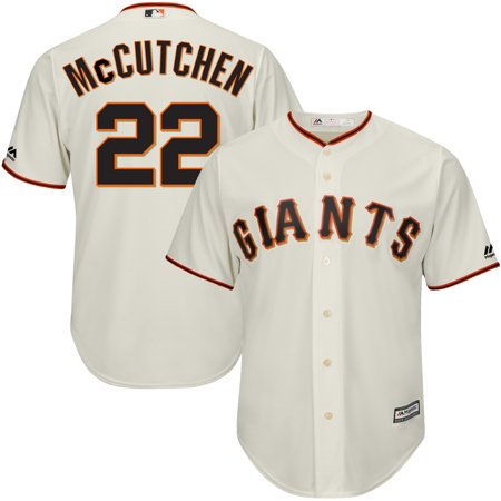 Andrew McCutchen San Francisco Giants Majestic Cool Base Player Replica Jersey - Cream