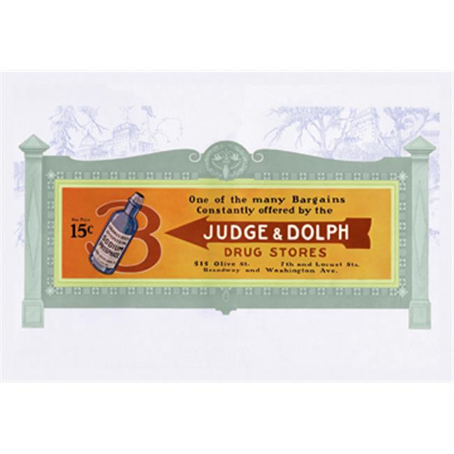 Buy Enlarge 0-587-13283-3P20x30 Judge and Dolph- Paper Size P20x30