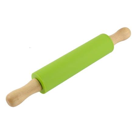 Dough Rolling Pins (Kitchen Flour Dough Silicone Service Non-Stick Rolling Pin 30cm Length )