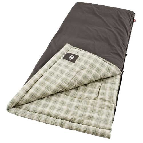 Coleman Coleman Heritage 84x40 Inch Rectangle Sleeping Bag Navy by COLEMAN