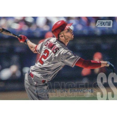 2018 Topps Stadium Club #65 Andrelton Simmons Los Angeles Angels Baseball Card - *GOTBASEBALLCARDS